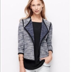 Ann Taylor tweed style jacket